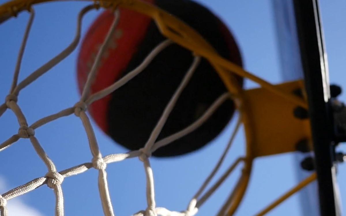 Campground basketball