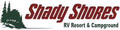 Shady Shores RV Resort and Campground Logo