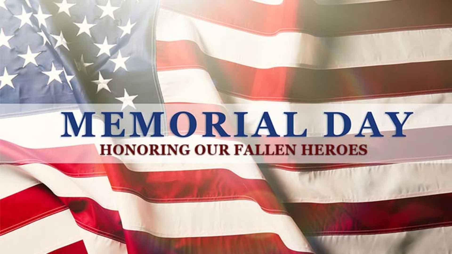 Memorial Day Service at Shady Shores